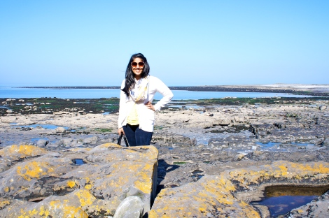 On Inish Mor, part of the Aran Islands, Ireland. I took a trip here in March 2012 to study seaweed. The most amazing experience of my life!